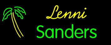lenni sanders palm tree